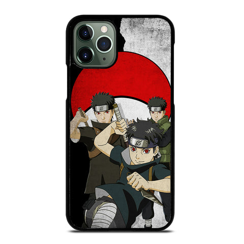 Uchiha Shisui Naruto Action iPhone 11 Pro Max Case