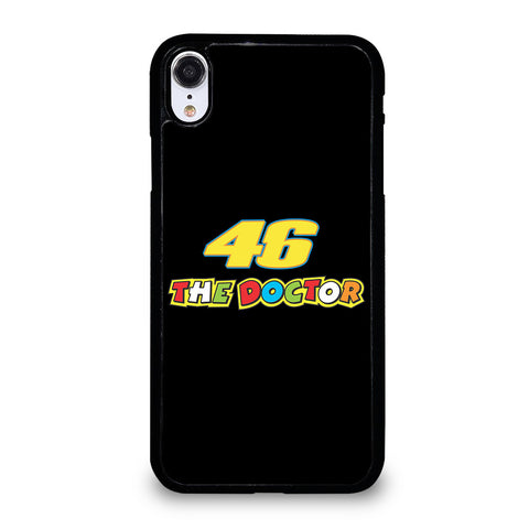 VR46 THE DOCTOR BLACK iPhone XR Case