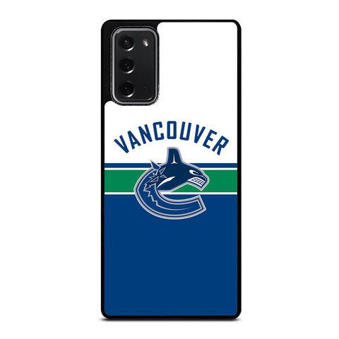 Vancouver Canucks Style Samsung Galaxy Note 20 Case