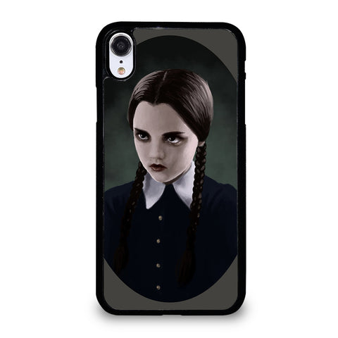 WEDNESDAY ADDAMS MIROR iPhone XR Case