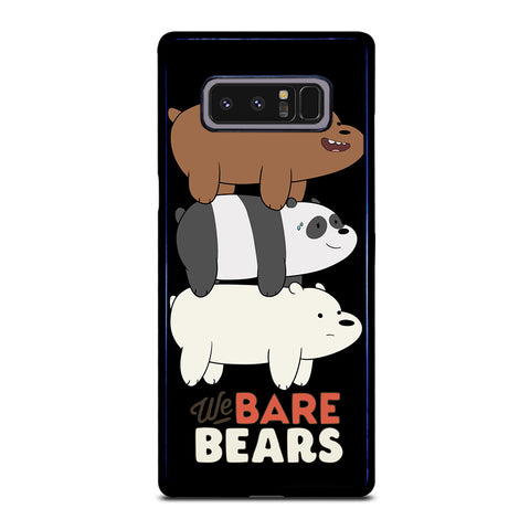 WE BARE BEARS Samsung Galaxy Note 8 Case