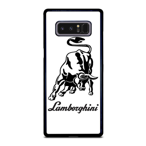 WHITE LAMBORGHINI Samsung Galaxy Note 8 Case