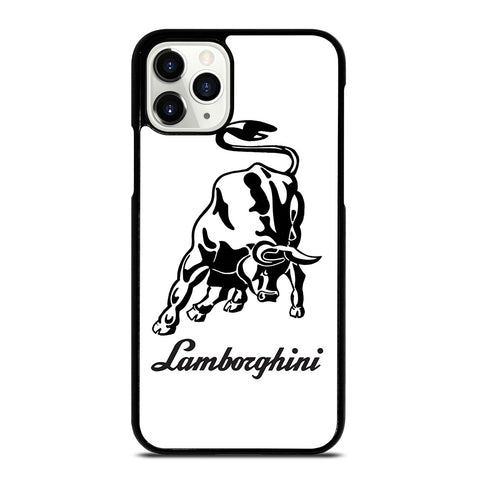 WHITE LAMBORGHINI iPhone 11 Pro Case