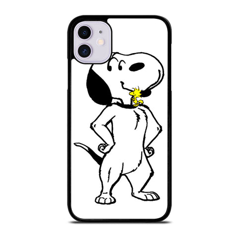 WOODSTOCK HUGES SNOOPY iPhone 11 Case