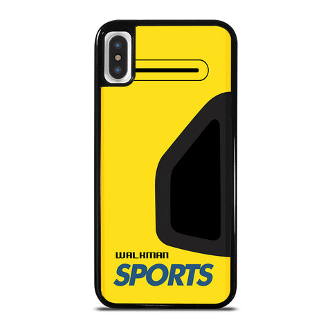 Walkman Cassette Sport iPhone X / XS Case