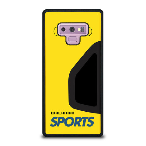 Walkman Cassette Sport Samsung Galaxy Note 9 Case