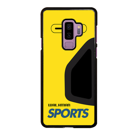 Walkman Cassette Sport Samsung Galaxy S9 Plus Case