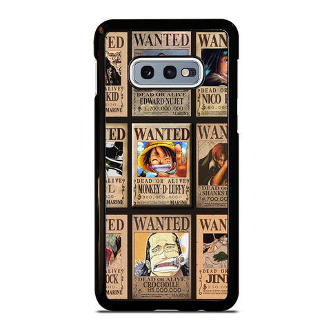 Wanted One Piece Luffy Samsung Galaxy S10e Case