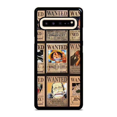 Wanted One Piece Luffy Samsung Galaxy S10 5G Case