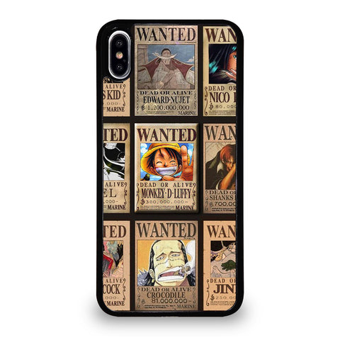 Wanted One Piece Luffy iPhone XS Max Case