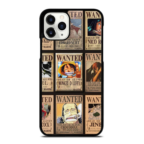 Wanted One Piece Luffy iPhone 11 Pro Case