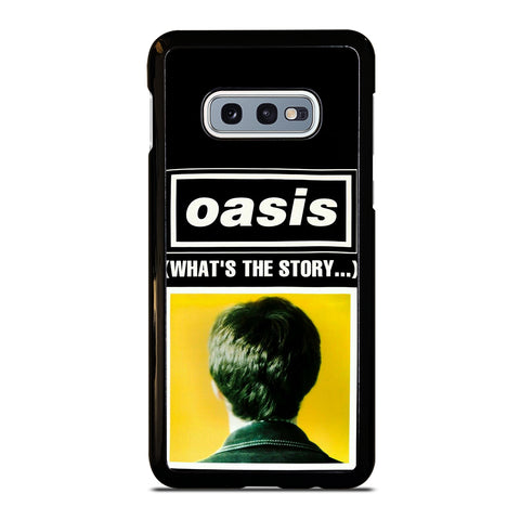 What's The Story Oasis Samsung Galaxy S10e Case