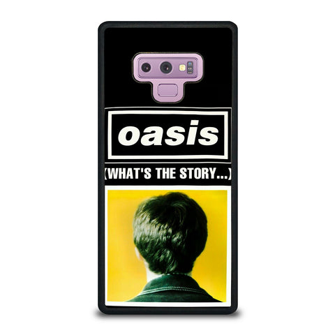 What's The Story Oasis Samsung Galaxy Note 9 Case