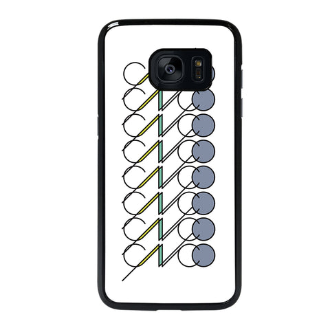 White CNCO Logo Samsung Galaxy S7 Edge Case