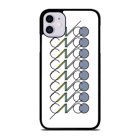 White CNCO Logo iPhone 11 Case