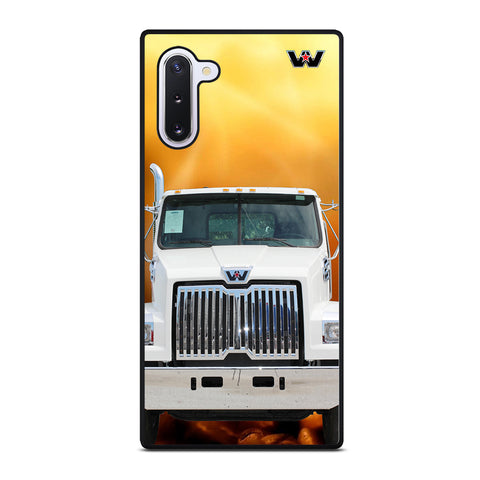 White Western Star Truck Samsung Galaxy Note 10 Case
