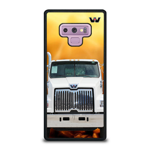 White Western Star Truck Samsung Galaxy Note 9 Case