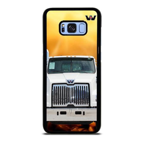 White Western Star Truck Samsung Galaxy S8 Plus Case