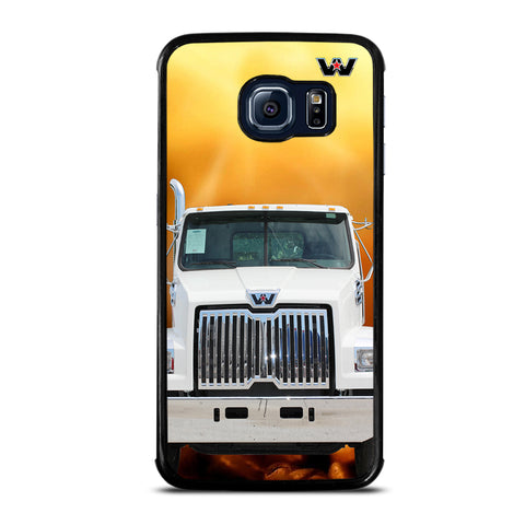 White Western Star Truck Samsung Galaxy S6 Edge Case