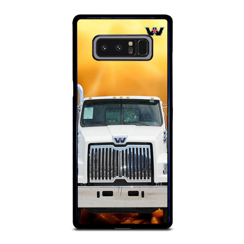 White Western Star Truck Samsung Galaxy Note 8 Case