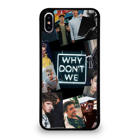 Why Don't We Collage iPhone XS Max Case