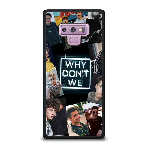 Why Don't We Collage Samsung Galaxy Note 9 Case