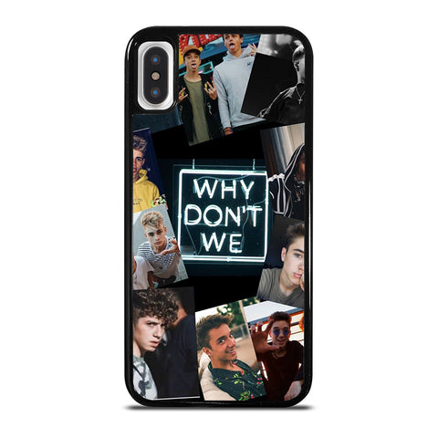 Why Don't We Collage iPhone X / XS Case