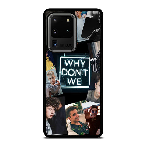 Why Don't We Collage Samsung Galaxy S20 Ultra / S20 Ultra 5G Case