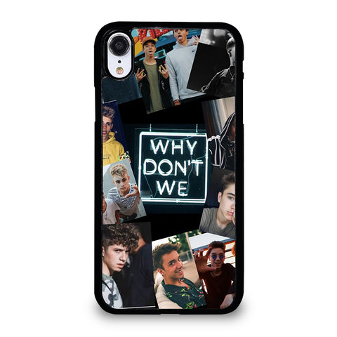 Why Don't We Collage iPhone XR Case