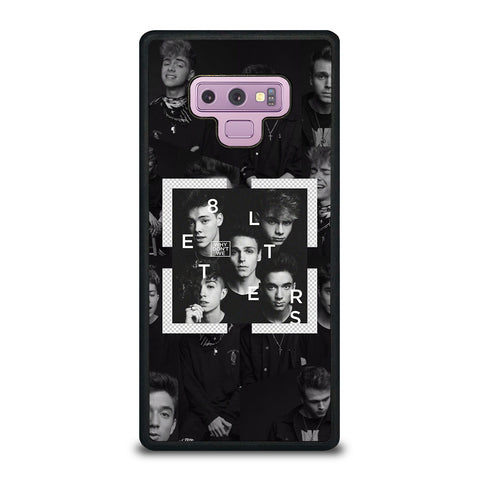 Why Don't We Letters Samsung Galaxy Note 9 Case