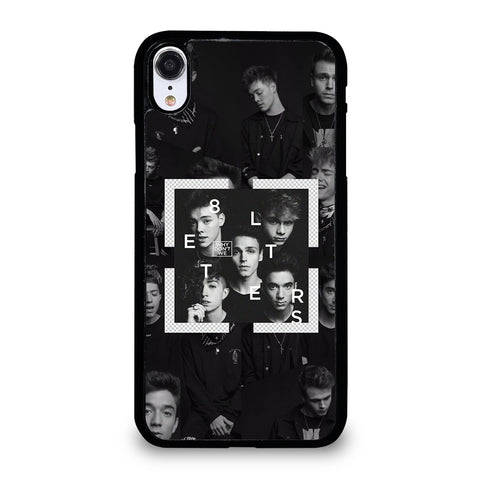 Why Don't We Letters iPhone XR Case