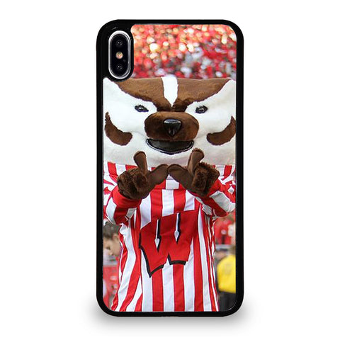 Wisconsin Mascot Image iPhone XS Max Case