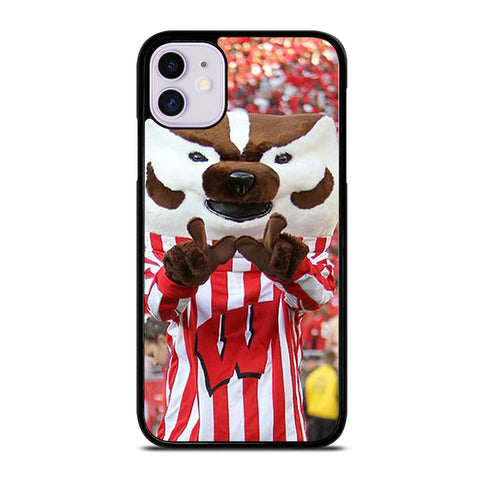 Wisconsin Mascot Image iPhone 11 Case