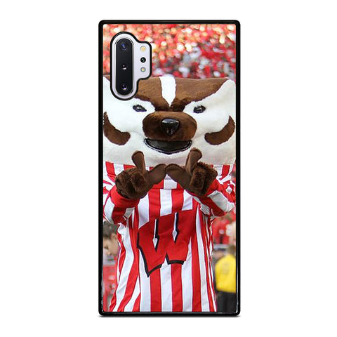 Wisconsin Mascot Image Samsung Galaxy Note 10 Plus Case