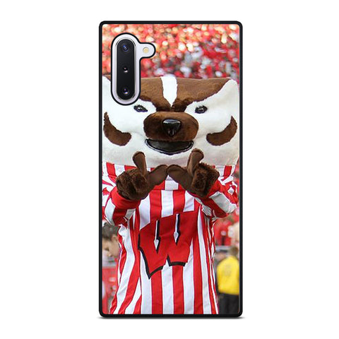 Wisconsin Mascot Image Samsung Galaxy Note 10 Case
