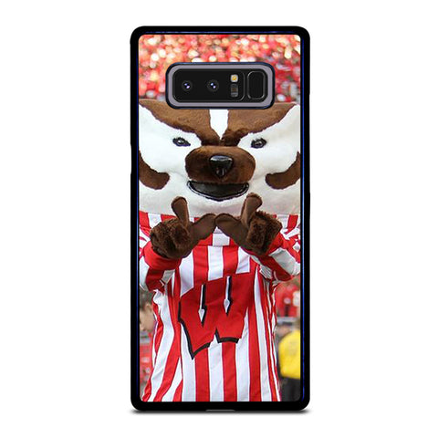 Wisconsin Mascot Image Samsung Galaxy Note 8 Case