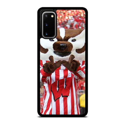 Wisconsin Mascot Image Samsung Galaxy S20 / S20 5G Case