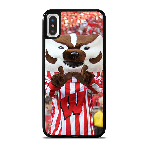 Wisconsin Mascot Image iPhone X / XS Case