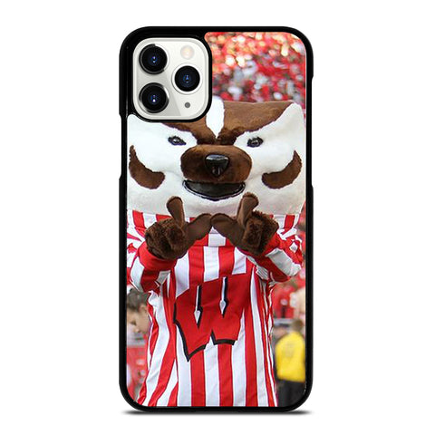 Wisconsin Mascot Image iPhone 11 Pro Case