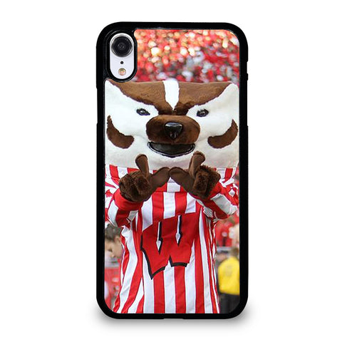 Wisconsin Mascot Image iPhone XR Case