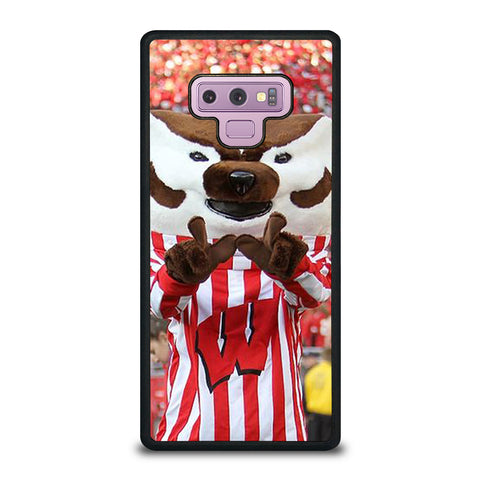 Wisconsin Mascot Image Samsung Galaxy Note 9 Case