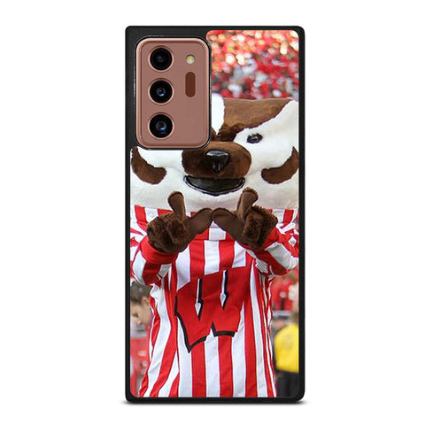 Wisconsin Mascot Image Samsung Galaxy Note 20 Ultra Case