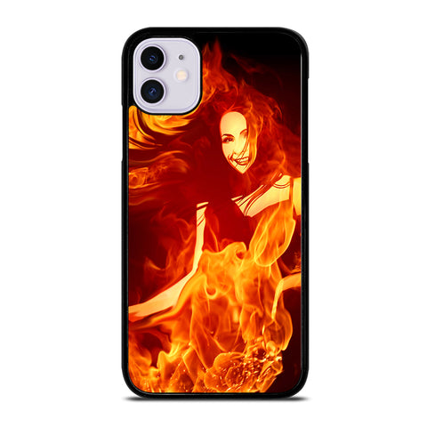 Woman In Fire iPhone 11 Case