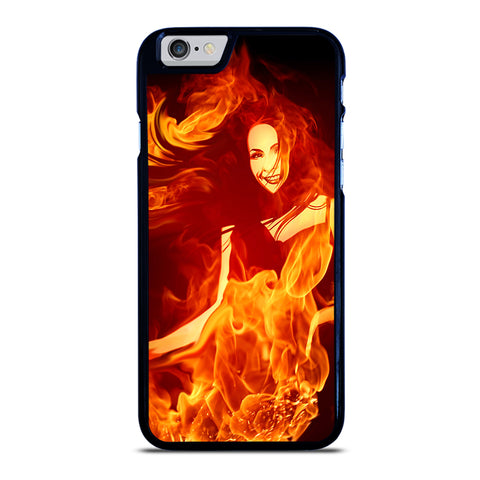 Woman In Fire iPhone 6 / 6S Case