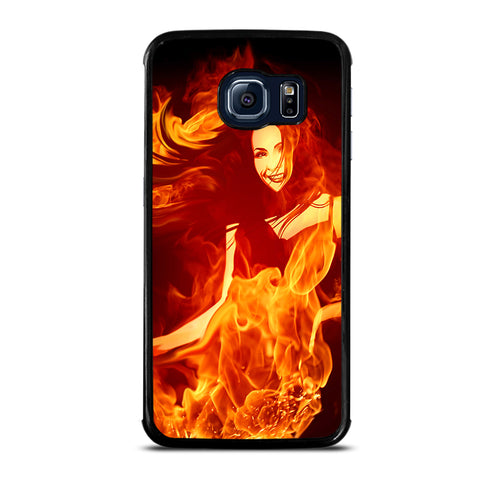 Woman In Fire Samsung Galaxy S6 Edge Case