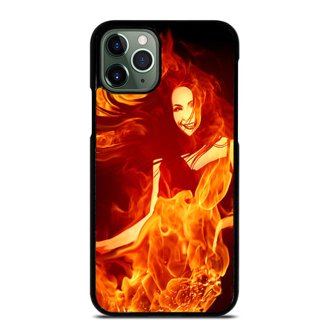 Woman In Fire iPhone 11 Pro Max Case