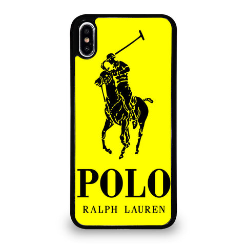 YELLOW POLO RALPH LAUREN iPhone XS Max Case