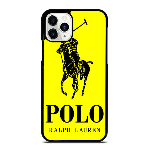 YELLOW POLO RALPH LAUREN iPhone 11 Pro Case