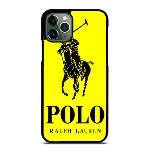 YELLOW POLO RALPH LAUREN iPhone 11 Pro Max Case
