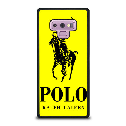 YELLOW POLO RALPH LAUREN Samsung Galaxy Note 9 Case